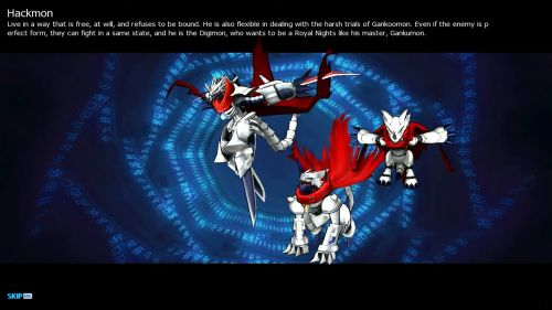 Hackmon Digimon Masters Online Wiki Dmo Wiki Despite many people thinking it references jesus, it's actually an acronym for the words justice, edge, and swordsman. hackmon digimon masters online wiki