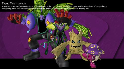 Mushroomon - Digimon Masters Online Wiki - DMO Wiki